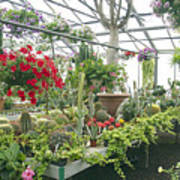 Ott's Greenhouse  Schwenksville Pennsylvania Usa Art Print