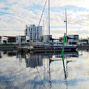 Oulu From The Sea 1  Art Print