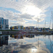 Oulu From The Sea 2 Art Print