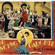 Our Dancing Daughters, Joan Crawford Art Print