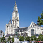 Our Lady Cathedral Antwerp Art Print