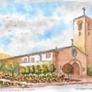 Our Lady Of Assumption Catholic Church, Claremont, California Art Print