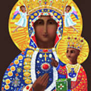 Our Lady Of Czestochowa - Mmcze Art Print
