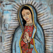 Our Lady Of Guadalupe Art Print by Rain Ririn