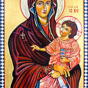 Our Lady Of The Snows  Art Print