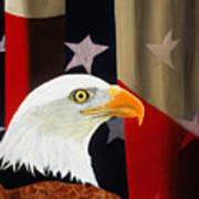 Our Proud Bird Art Print