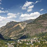 Ouray Colorado Nestled In The San Juan Mountains Art Print