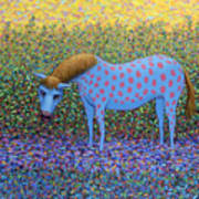 Out Of The Pasture Art Print