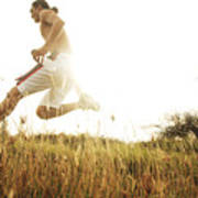 Outdoor Jogging II Print by Brandon Tabiolo - Printscapes