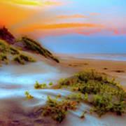 Outer Banks Soft Dune Sunrise Fx2 Art Print