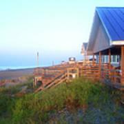 Outerbanks Sunrise At The Beach Art Print
