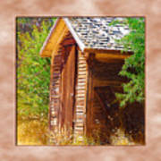 Outhouse 1 Art Print