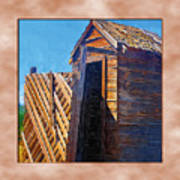 Outhouse 2 Art Print