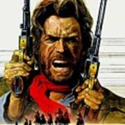 Outlaw Josey Wales The Art Print