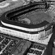 Over 70,000 Fans Jam Yankee Stadium Art Print by Everett