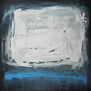 Over Blue Art Print