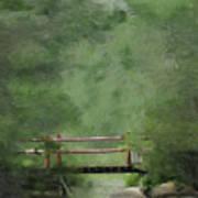 Over Still Waters Art Print