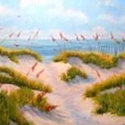Over The Dunes Art Print