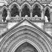 Over The Entrance To The Royal Courts  Art Print