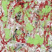 Overactive Christmas Celebration - V1db100 Art Print