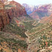 Overlook Canyon Art Print