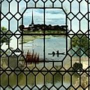 Overlooking The Loire Art Print