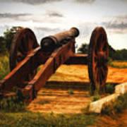 Overlooking Yorktown  ... Art Print