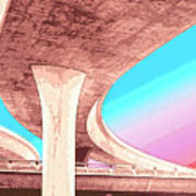 Overpass Two Art Print