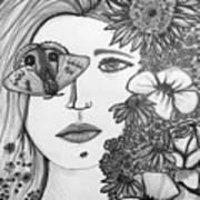 Overwhelmed Art Print