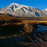 Owens River Valley Bishop Ca Art Print