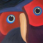 Owl - Sold Art Print