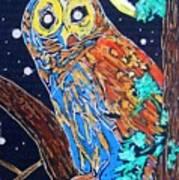 Owl Light Art Print