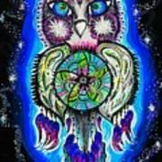 Owl No Uv Art Print