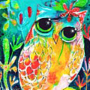 Owlette Art Print