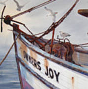 Owners Joy Art Print