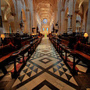 Oxford Cathedral Nave Art Print