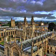 Oxford University - All Souls College Print by Yhun Suarez