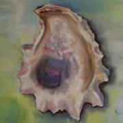 Oyster Shell Art Print