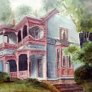 Ozark Cottage Art Print