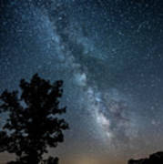 Ozarks Milky Way Art Print