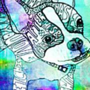 Ozzy Boy Blues Art Print by Robin Mead