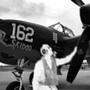 P-38 Ghost Flight Art Print