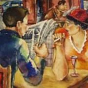Wartime News Art Print