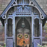 Pa Country Churches - Coleman Memorial Chapel Exterior - Near Brickerville, Lancaster County Art Print
