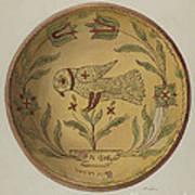Pa. German Pie Plate Art Print