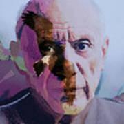 Pablo Picasso Portrait  Art Print