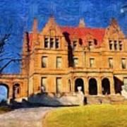 Pabst Mansion Art Print