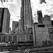 pace university campus New York City USA Art Print