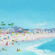 Pacific Beach In San Diego Art Print