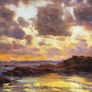 Pacific Clouds Art Print